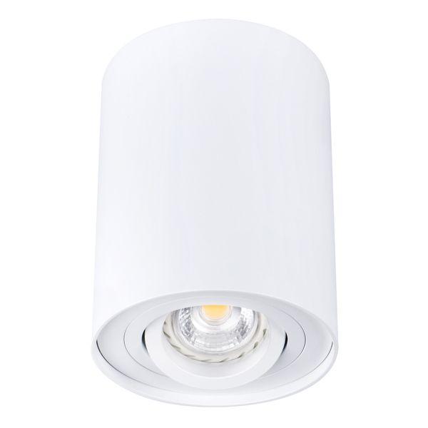 LED Deckenleuchte Spot weiß BORD DLP-50-W schwenkbar inkl. LED GU10 6W warmweiß – Bild 1