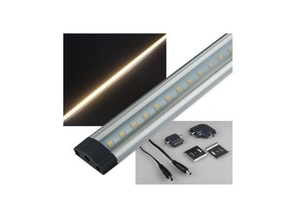 LED-Unterbauleuchte 50 cm für Küche Schrank Regal 5W, 4200K neutral ...
