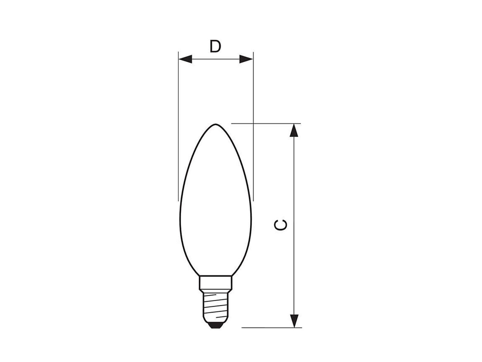 70-5176-E14-Skizze-1600x1200 Erstaunlich Philips Led Leuchtmittel E14 Dekorationen