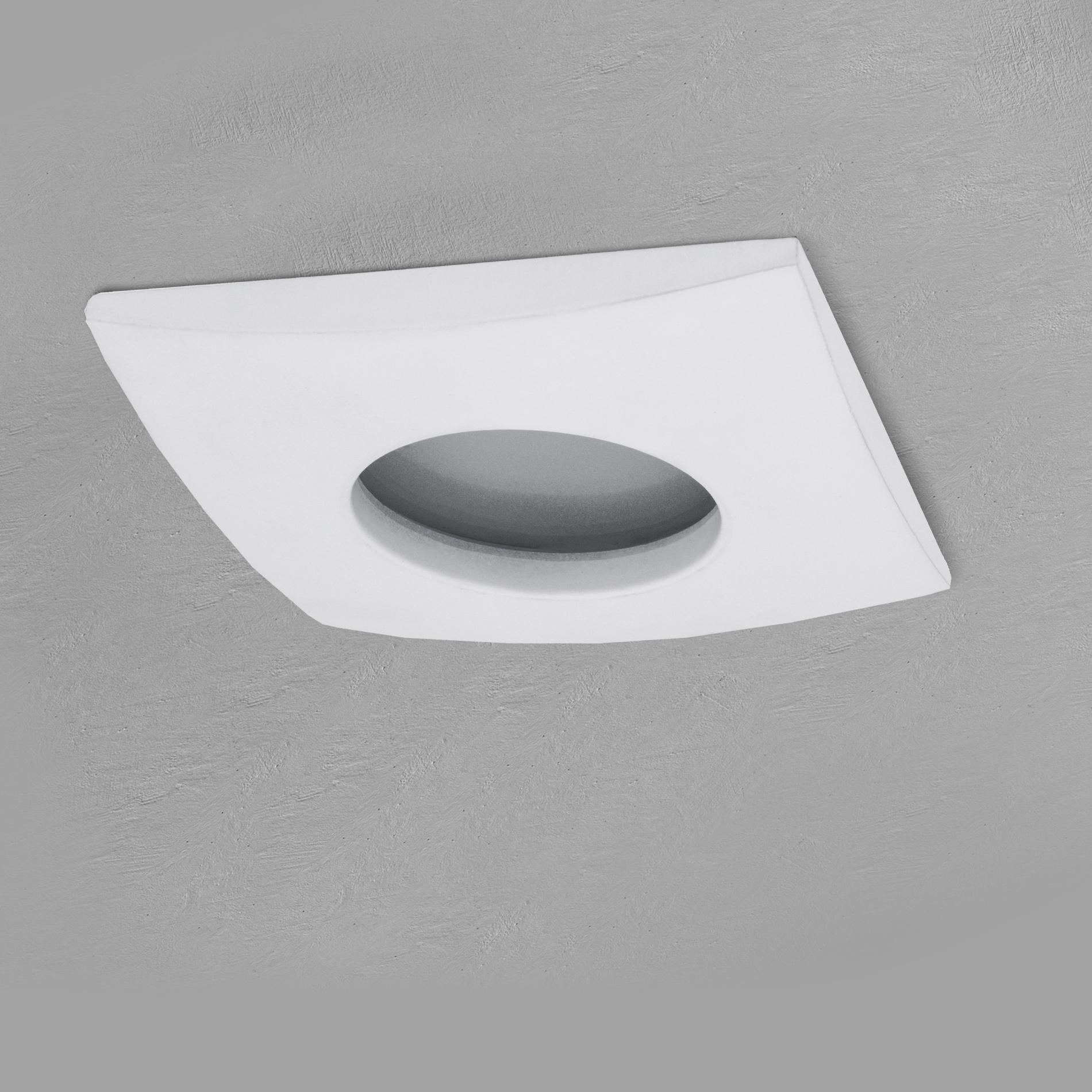 qw 1 led einbaustrahler weiss bad dusche aussenbereich feuchtraum ip65 3w smd led warmwei gu10. Black Bedroom Furniture Sets. Home Design Ideas