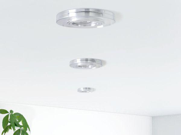 Dimmbarer LED-Einbaustrahler Echtglas rund, klar spiegelnd, 4,9W neutralweiß, GU10 230V MASTER LEDspot MV von PHILIPS – Bild 3