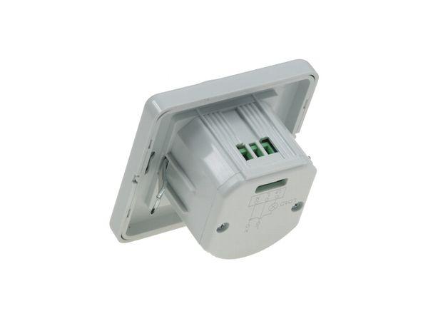 Unterputz Infrarot-Bewegungsmelder (PIR) 160°, für LED-Leuchten, IP20, weiß – Bild 3
