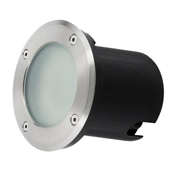 Bodeneinbaustrahler MARNE rund Edelstahl gebürstet inkl. LED GU10 6W neutralweiß 230V – Bild 8