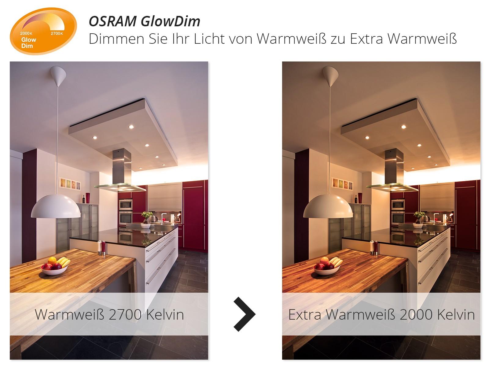 QW-1 Feuchtraum LED-Einbauspot Bad Dusche chrom, IP65 5,5W LED extra ...