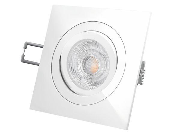 QF-2 LED-Einbaustrahler Einbauleuchte weiß schwenkbar, 5W warmweiß, 230V GU10, SUPERSTAR Duo Click Dim von OSRAM