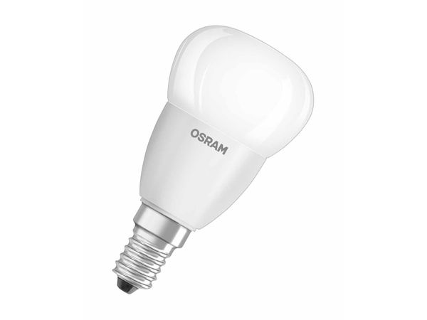 OSRAM LED Star P40 Birne E14 6W 470 Lumen warmweiss 2700 K