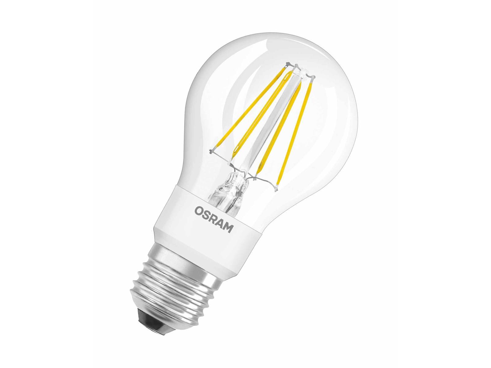 osram led retrofit filament 7w a 55 glowdim e27 750 lumen warm wei 1700 2700k dimmbar. Black Bedroom Furniture Sets. Home Design Ideas