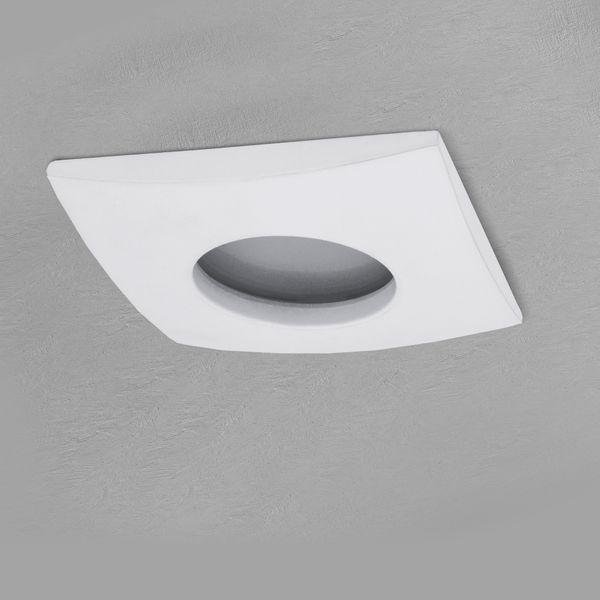 QW-1 LED-Einbaustrahler weiss, Bad Dusche Feuchtraum, IP65, 4,3W  warmweiß, GU10 OSRAM LED STAR  – Bild 5