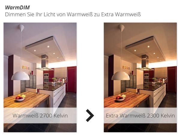 Aufbau Deckenspot DUCE aus Alu, schwenkbar inkl. LED 10W warmweiß (2300-2700K) dimmbar mit Dim-to-Warm – Bild 3
