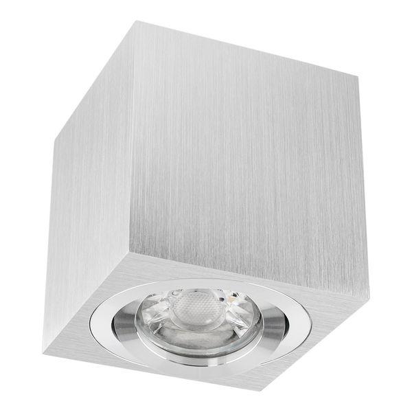 Decken Aufbauspot DUCE aus Alu, schwenkbar inkl. LED Leuchtmittel 5W SMD neutralweiß 230V – Bild 3