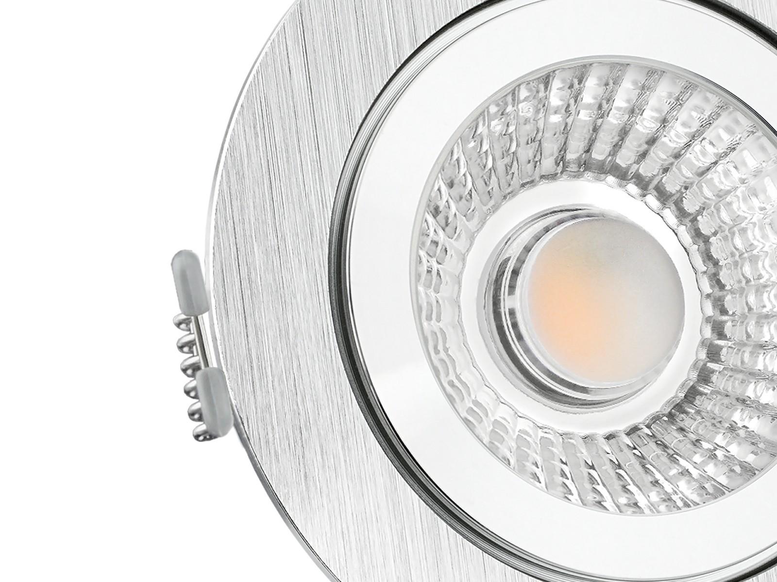 LED-Einbaustrahler-IP44-flach-Detail Erstaunlich Led Einbaustrahler 230v Flach Dekorationen