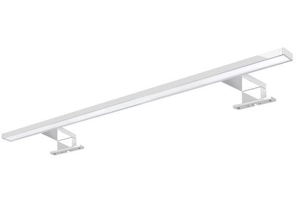 XXL LED Badleuchte Spiegelleuchte 60 cm - 9W IP44 warmweiß chrom glänzend – Bild 1