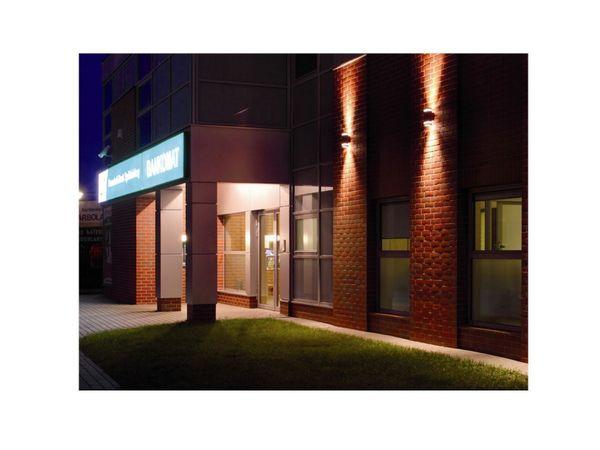 Wandlampe up&down Außen-Wandleuchte Aufbau-Leuchte Alu IP44, schwarz, inkl. 2 LED 5W, 230V GU10, warm weiss – Bild 5