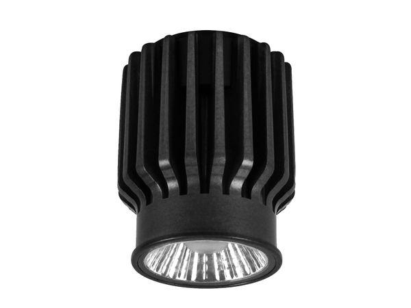 QF-2 Alu LED-Einbauspot flach schwenkbar inkl. LED Modul 230V, 15W, warm weiß 3000K dimmbar – Bild 6
