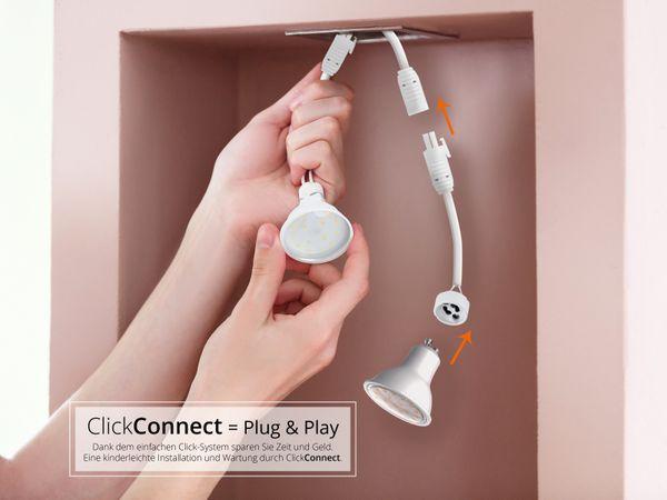 """ClickConnect  """"Starter-Kit"""": Installations-Set für 230V LED Lichtsysteme / GU10 Leuchtensysteme – Bild 2"""