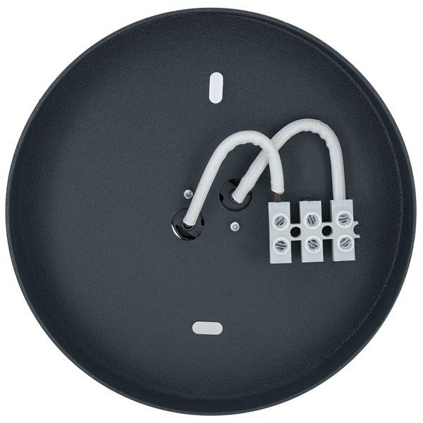 Point S Decken-Aufbau-Spot graphit mit LED 7W warm weiß 2700K DIMMBAR – Bild 6