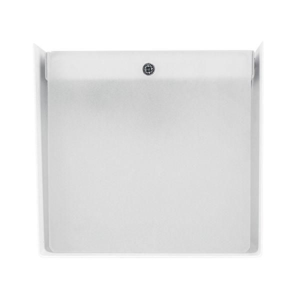 up&down Wand-Aufbau-Leuchte CUBE weiß mit LED G9 2W warm weiß 2700K – Bild 3