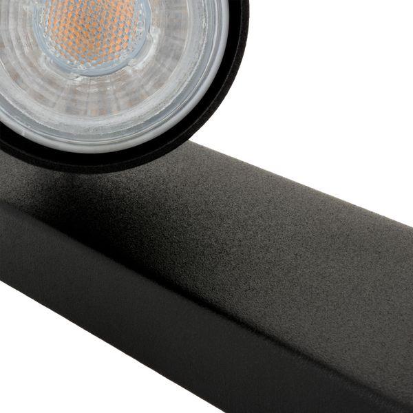 2er Deckenstrahler Eye Spot schwarz, inkl. 2 LED 5W warm weiß 2700K – Bild 4