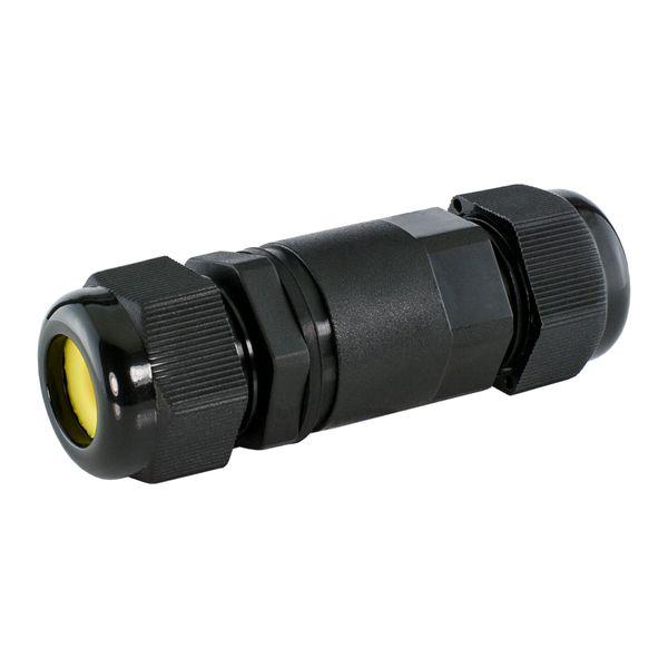 wCable Kabelverbinder 5-polig für außen Erdkabel Ø 4-14 mm IP68 Wasserdicht – Bild 1