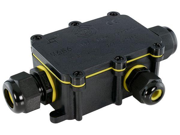 wCable Kabelverbinder Box 5-polig für außen Erdkabel Ø 5-12 mm IP68 Wasserdicht – Bild 4