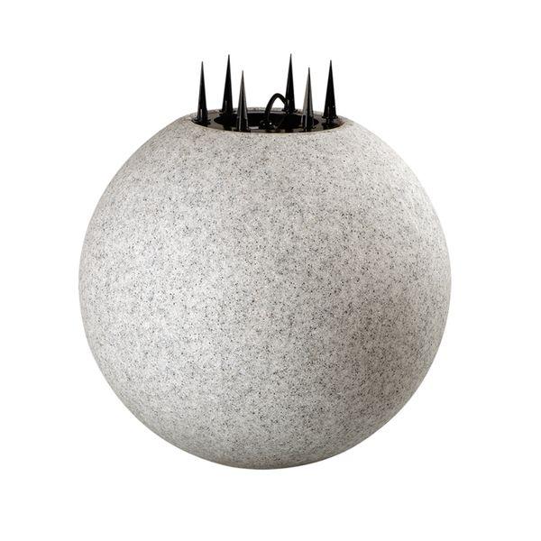 Leuchtkugel Gartenleuchte STONO 50, IP65, inkl. E27-LED OSRAM 10W und 3m Kabel, Ø 50cm – Bild 9