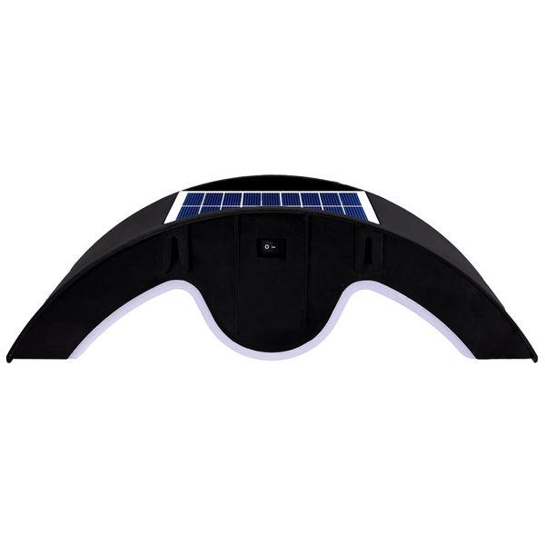 Solar-Außen-Wandleuchte VALEA Wandlampe Aufbauleuchte mit Dämmerungs-/Bewegungssensor PIR warmweiß – Bild 5