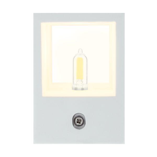 Wandleuchte Up and Down GIORGIA aus Gips überstreichbar, inkl. G9-Leuchtmittel LED 2W 2700K – Bild 4