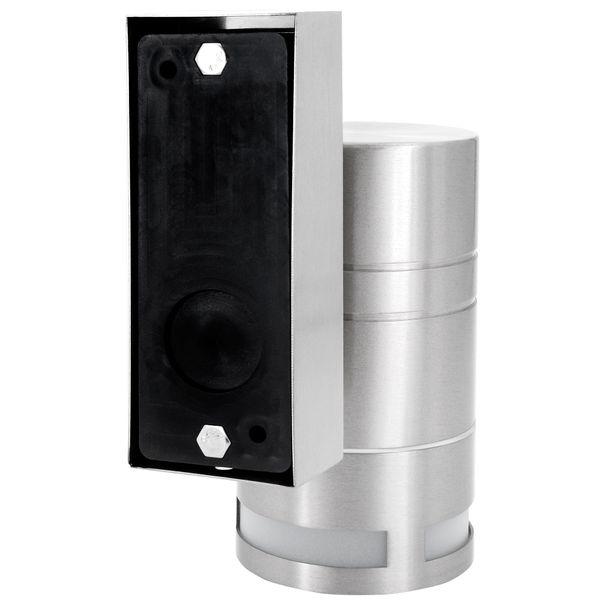 Außen-Wandleuchte Wandlampe Downlight Aufbauleuchte, IP44 Edelstahl, inkl. LED 5W neutralweiss Stückzahl: 1er Set – Bild 6