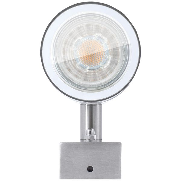 Außen-Wandleuchte Wandlampe Up & Down Aufbauleuchte, IP44 Edelstahl, inkl. 2 x LED 5W neutralweiss – Bild 5