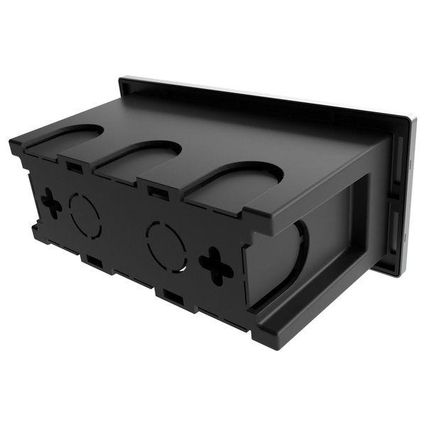 LED-Einbauleuchte Piko-S Boden Treppenleuchte 230V, Edelstahl, IP65, Lichtfarbe neutralweiß – Bild 6