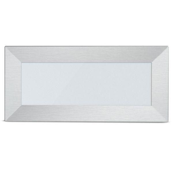 LED-Einbauleuchte Piko-L Boden Treppenleuchte 230V, Edelstahl, IP65, Lichtfarbe warmweiß – Bild 5