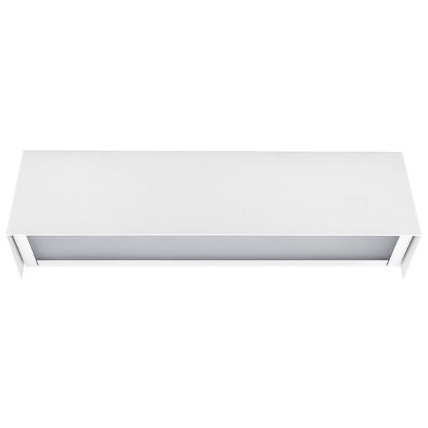 Straight Wall White XS Wand-Aufbau-Leuchte mit LED E14 3W warm weiß 2800K – Bild 3