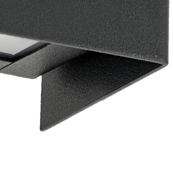 Straight Wall Graphite XS Wand-Aufbau-Leuchte mit LED E14 3W warm weiß 2800K – Bild 4