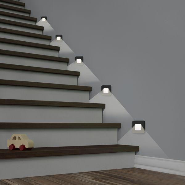 LED-Wandeinbauleuchte DEVA AC, schwarz, 1W 230V, IP20, Lichtfarbe warm weiß – Bild 5