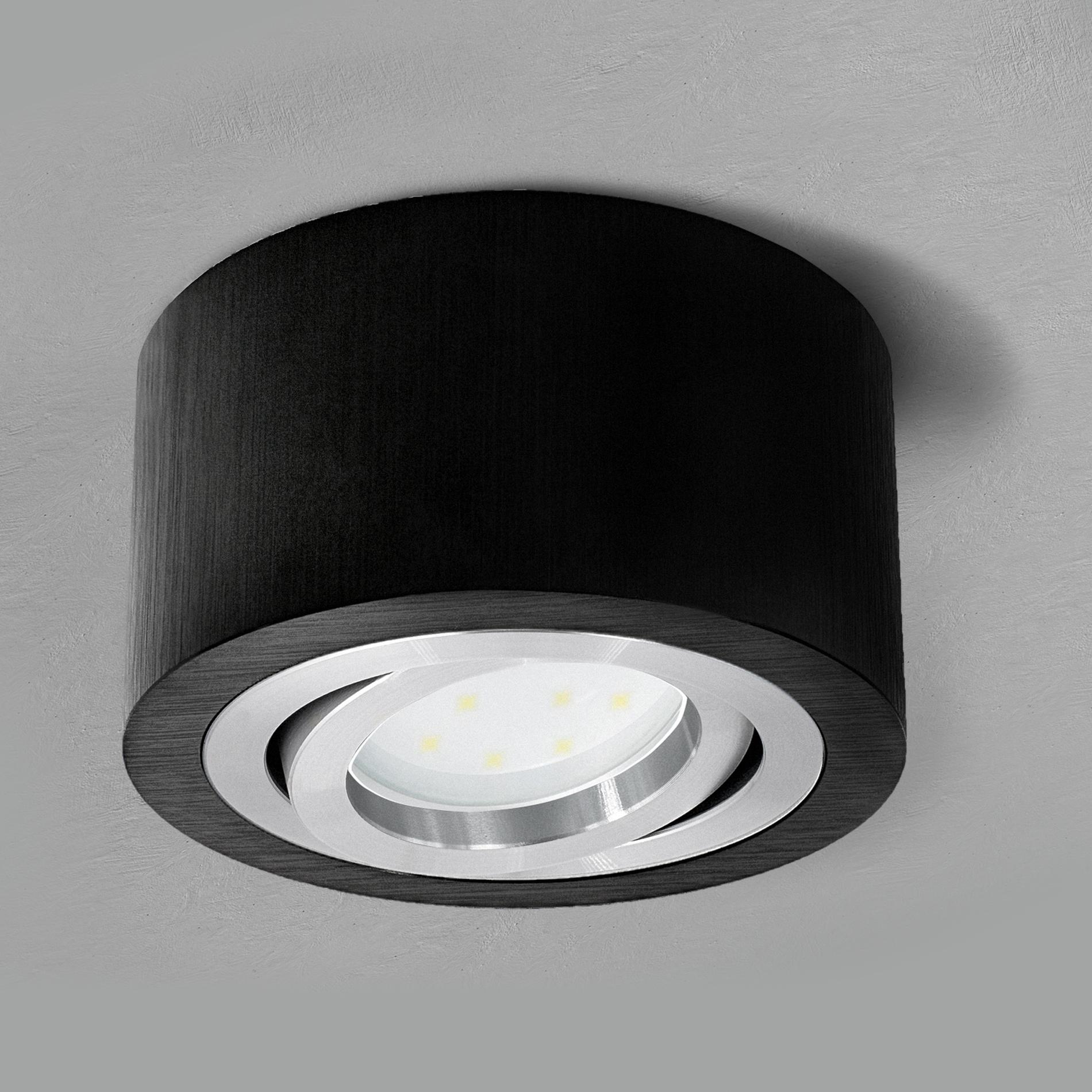LED GU10 5W Leuchtmittel 230V Aufbau Leuchte Strahler Deckenleuchte Aufbauspot
