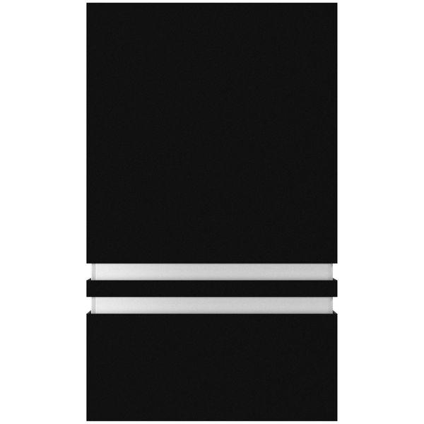 Außen Wandleuchte JOVO-S Up oder Down, matt Schwarz, IP44 inkl. LED 5W neutralweiß – Bild 4