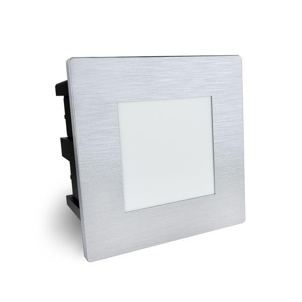 LED Treppenleuchte Piko-SQ Lichtfarbe warmweiß quadratischer Einbaustrahler 230V IP65 1,5W