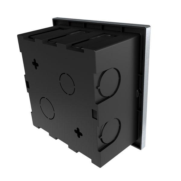 Große LED Treppen Einbauleuchte Piko-LQ quadratisch Lichtfarbe warmweiß 230V IP65 3,5W – Bild 6