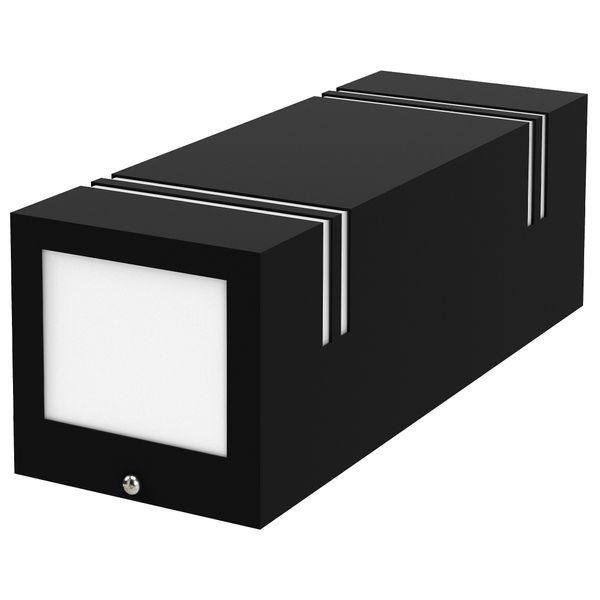 Wandleuchte JOVO-L Up & Down schwarz für Außen IP44 inkl. 2x GU10 LED 3W neutralweiß Stückzahl: 1er Set – Bild 8