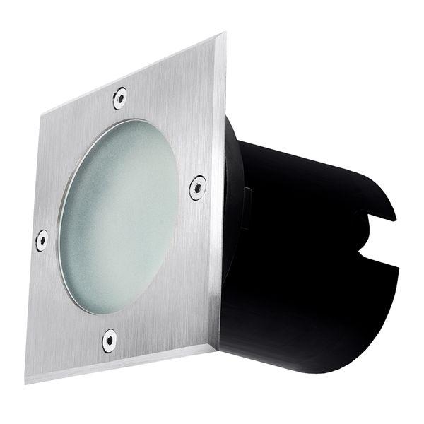 LED Bodeneinbaustrahler MADON - befahrbare Bodenlampe IP65 mit 3W neutralweiß GU10 230V – Bild 8