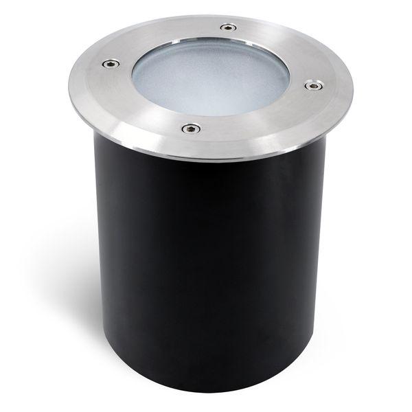 Schwenkbarer LED Bodeneinbaustrahler JUAVI IP67 inkl. LED GU10 6W warmweiß 230V – Bild 3