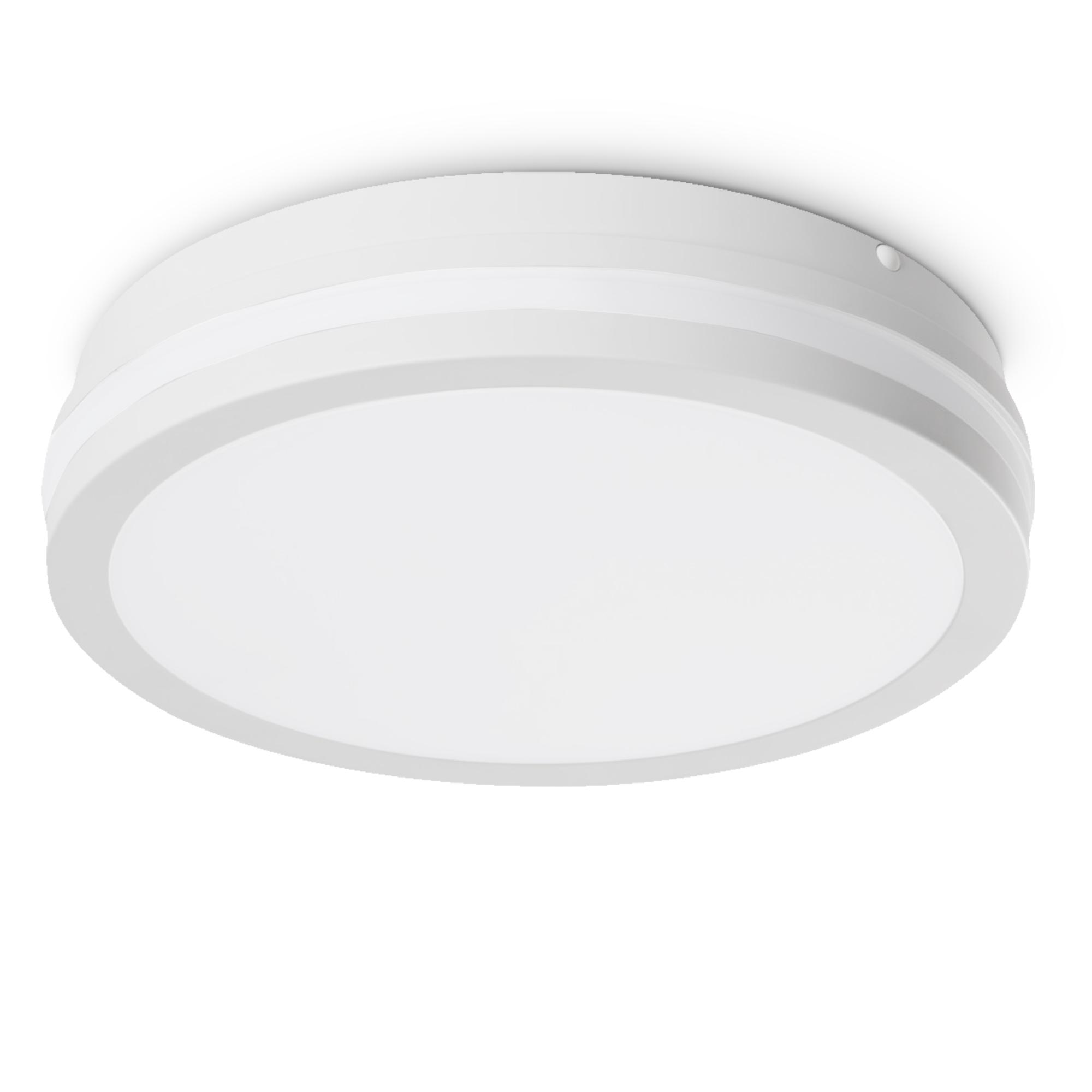 LED Deckenleuchte Badlampe IP20 Aufbau Panel mit 20W neutralweiß 20V in  weiß & rund