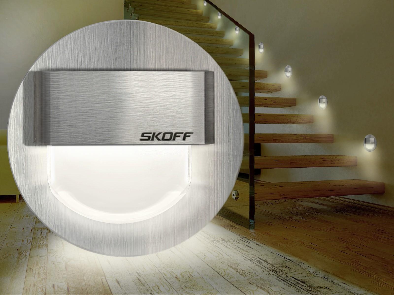 led wandeinbauleuchte wegebeleuchtung ip66 innen au en. Black Bedroom Furniture Sets. Home Design Ideas
