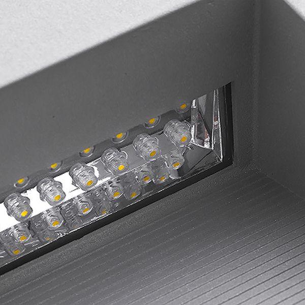 LED Wandeinbauleuchte Treppenleuchte MINI.J02 1,2W 230V IP65 Lichtfarbe warmweiß – Bild 7