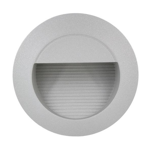 LED Wandeinbauleuchte Treppenleuchte MINI.J01 1,2W 230V IP65 Lichtfarbe warmweiß – Bild 2